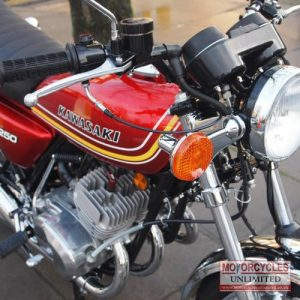 1977 Kawasaki KH250B Classic Triple For Sale (9)