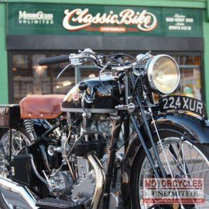 1933 BSA 500 Vintage Motorbike For Sale (7)