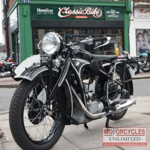 1936 BMW R4 400cc Classic For Sale (1)