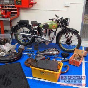 1937 BSA B24 350 Empire Star For Sale