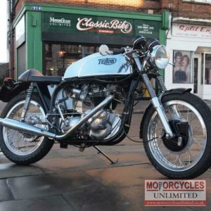 1959 Triumph Featherbed Triton T120 For Sale (2)