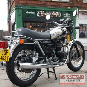 1981 Triumph Bonneville T140 Royal Wedding For Sale (1)