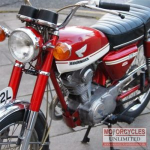 1973 Honda CB125 S Classic Commuter For Sale (3)