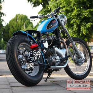 1955 BSA A10 650 Gold Flash Bobber For Sale (5)