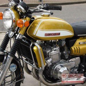1972 Suzuki GT750J Classic Triple For Sale (8)