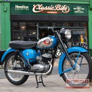 1963 BSA Bantam D7 For Sale (10)