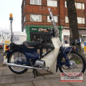 2007 Honda C50 Super Cub For Sale (11)