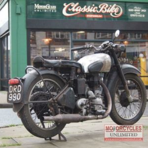 1949 Royal Enfield 350 Model G For Sale (1)