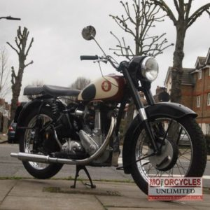 1957 BSA M33 500cc Plunger For Sale (1)