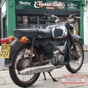 1967 Honda C200 For Sale (1)