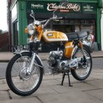1973 Yamaha SS50 Fs1e Classic Moped For Sale (10)