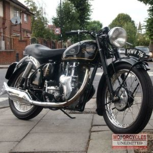 1955 Velocette MSS 500 For Sale (1)