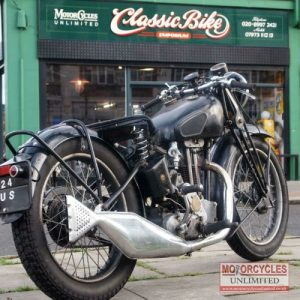 1937 Sunbeam 350 Classic Bike For Sale (1)