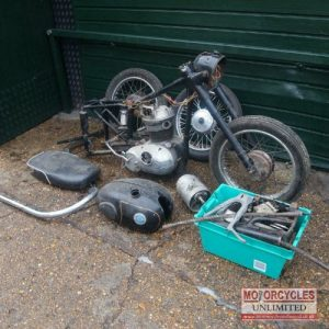 AJS Model 14 Classic Barn Find For Sale (8)