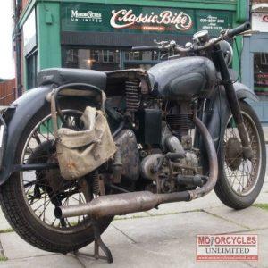 1949 Royal Enfield Model G For Sale (1)
