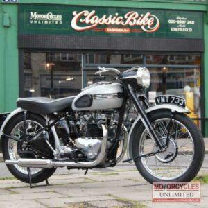 1950 Triumph T100 For Sale (1)