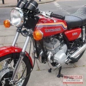 1972 Kawasaki 350 S2 For Sale (3)