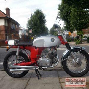 1968 Honda CD175 Cafe Racer For Sale (4)